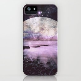 Mystic Lake Lavender iPhone Case