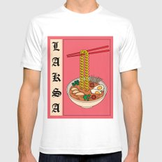 Laksa Mens Fitted Tee MEDIUM White