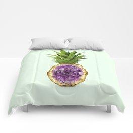 PINEAPPLE QUARTZ Comforters