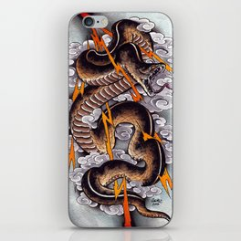 Lightning Cobra iPhone Skin