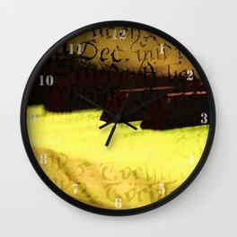 piano 2 Wall Clock