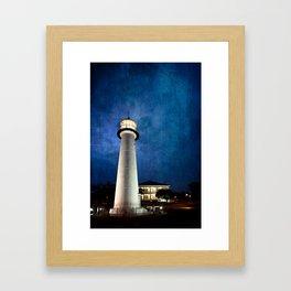 Lighthouse Blues Framed Art Print