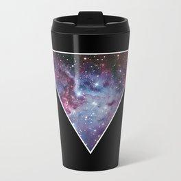 Galaxy Triangle Print Metal Travel Mug