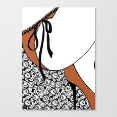 La femme n.19 Canvas Print