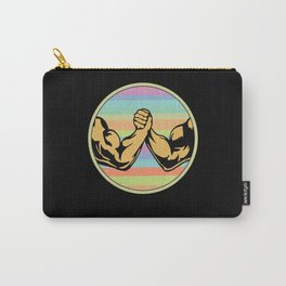 Arm Wrestling Vintage Carry-All Pouch