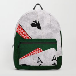 Poker Dead Man's Hand Backpack