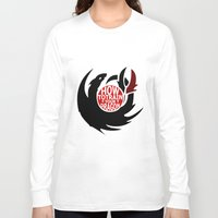 how to train your dragon Long Sleeve T-shirts featuring How To Train Your Dragon (Hiccup's Shield) by KitsuneDesigns