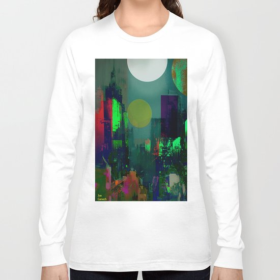 Electric city Long Sleeve T-shirt