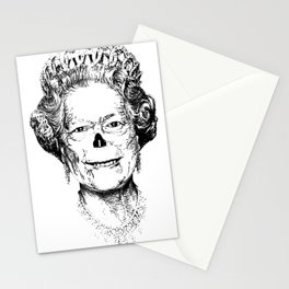 The Warming Dead! The Queen. Stationery Cards