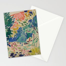 Landscape at Collioure by Henri Matisse Stationery Cards