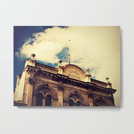 Half Mast, Oamaru New Zealand Metal Print