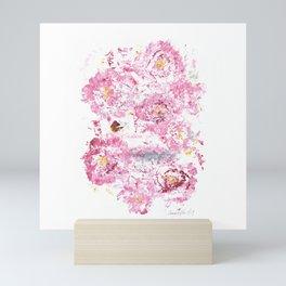Botanical Impressions: CAMELLIA Mini Art Print
