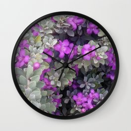 Purple Sage Wall Clock