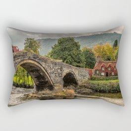 Llanrwst Cottage  Rectangular Pillow