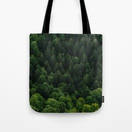 Swiss forest Tote Bag