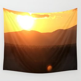 Steamboat Sunrise Wall Tapestry