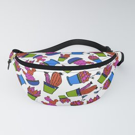 Cacti paradise pattern Fanny Pack