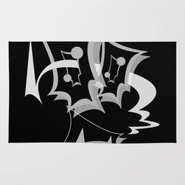 GiMMiCK BLACK SiDE ver. (Original Characters Art By AKIRA) Rug