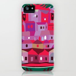 Cow in Downtown Los Angeles iPhone Case