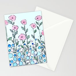 Poppies and Pebbles Stationery Cards