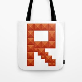 "Letter ""R"" print in beautiful design Fashion Modern Style Tote Bag"