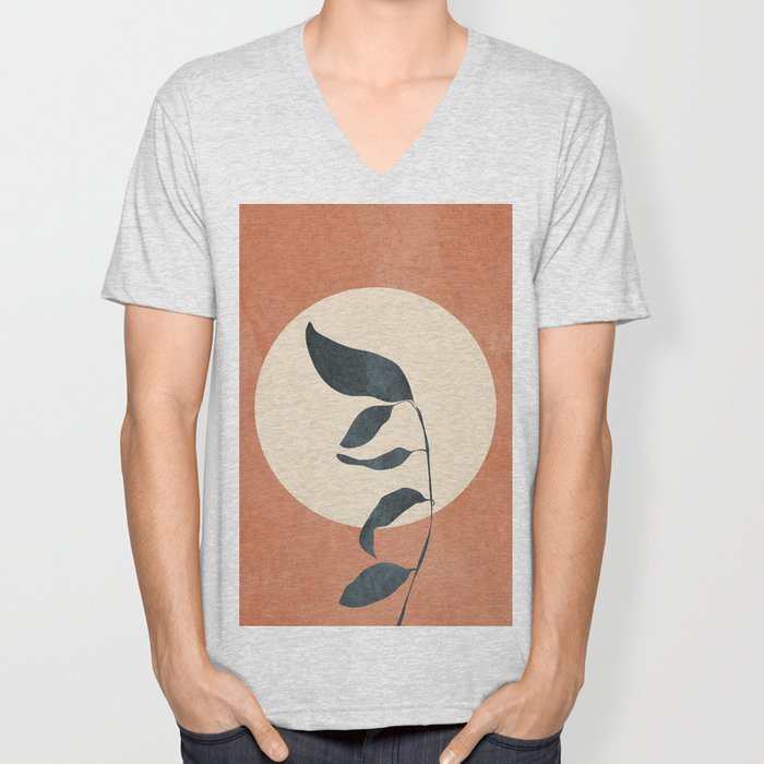 Summer Leaves Unisex V-Neck