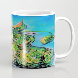 Abstract Pears Coffee Mug