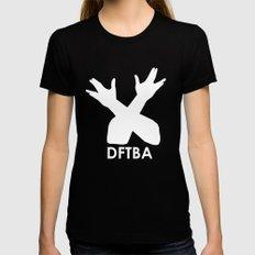 DFTBA Womens Fitted Tee Black SMALL