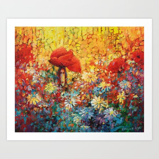 Meadow II Art Print