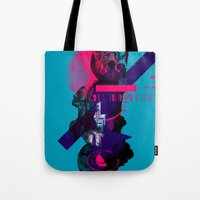 fullmetal alchemist Tote Bags featuring Alchemist Geometry by Largetosti