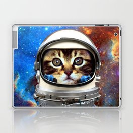 Astronaut Cat #2 Laptop & iPad Skin