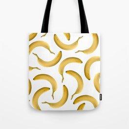 Bananas Pattern - white Tote Bag