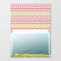AZTEC 'Beyond The Sea' 1-1 Canvas Print