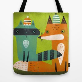 STOCKING CAPS Tote Bag