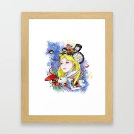 Alice's Adventure in Wonderland Framed Art Print