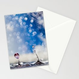 Waterdrop 4  Stationery Cards