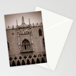 Doge palace saint mark Venice san marco piazza Stationery Cards