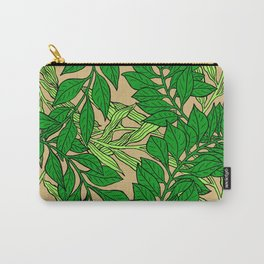 Green Vines2 Carry-All Pouch