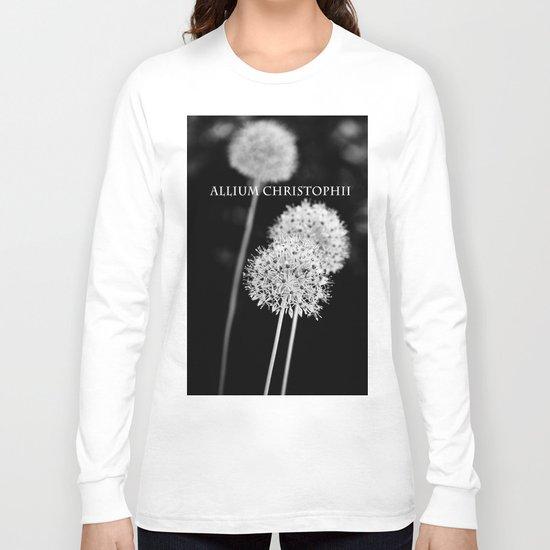 Allium cristophii Long Sleeve T-shirt