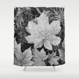 Ansel Adams - Leaves Shower Curtain