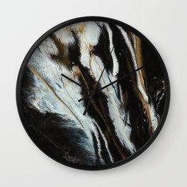 Fine Art Agate Wall Clock