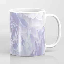 Flower Bouquet In Pastel Blue Color - #society6 #buyart Coffee Mug