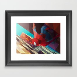 Hang Man Framed Art Print