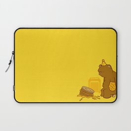 Birthday Bear Laptop Sleeve
