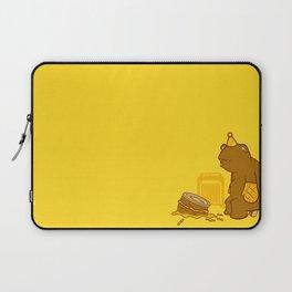Birthday Bear Laptop Sleeve