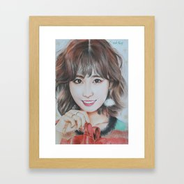 Kpop Twice Momo Framed Art Print