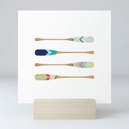 Oars Mini Art Print