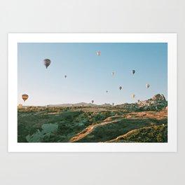 up n away Art Print