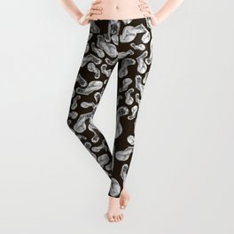 Kolinsky pattern Brown Leggings