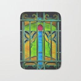 Mausoleum Stained Glass Bath Mat